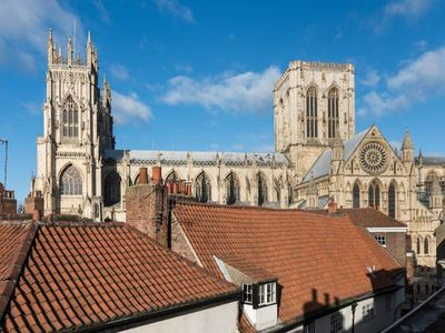 Photo for Superb loft apartment steps away from the Minster