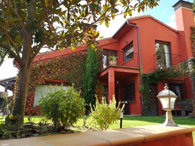 Photo for Exclusive house with charm and views in Brihuega -Guadalajara- Land of lavender