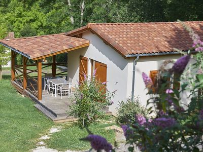 Photo for Charming house with a covered terrace near Gourdon