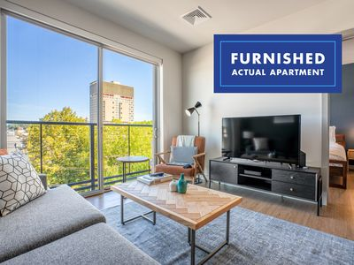 Photo for Lux Kendall Square 1BR w/ W/D, near Mass General Hospital, by Blueground