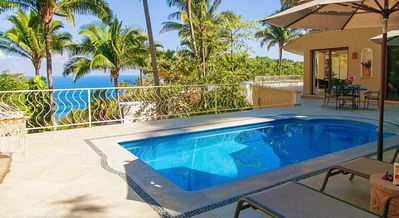 """Photo for """"Wow!"""" Casa Mar Azul Dos, ocean-view retreat for 2 to 4 adults, walk to beach. Private, spacious"""