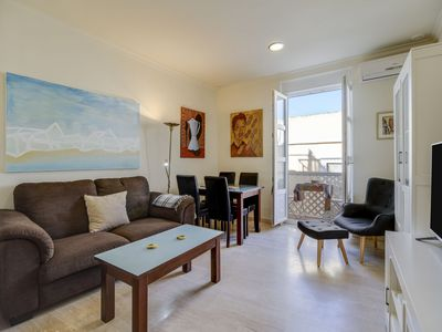 Photo for Central Apartment Tavira Close to Beach with Balcony, Air Conditioning, and Wi-Fi