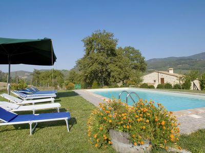 Photo for Beautiful private villa for 8 people with WIFI, private pool, TV, pets allowed and parking