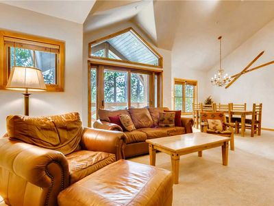 Photo for Large condo with vaulted ceiling, gas fireplace and balcony