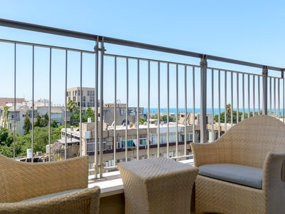 Photo for Neve Tzedek Sea-View Balcony & Parking