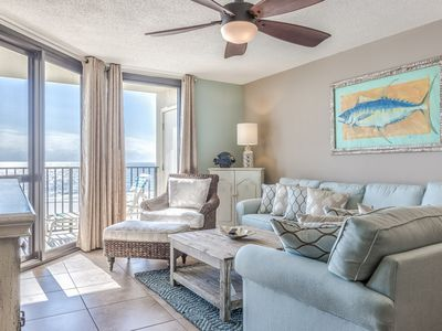 Photo for JULY/AUG  SPECIAL! 2br/2ba*sleeps 8*BEACH FRONT*9th Floor Unit 6912