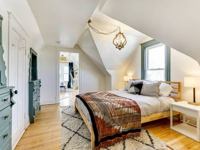 Photo for Modern, fully equipped, and newly renovated attic apartment in the center of Northeast Minneapolis