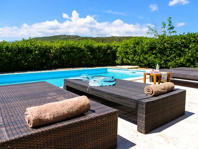 Photo for Contemporary villa with private pool 5 min from the beaches