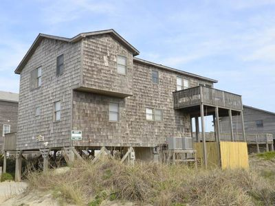 Photo for Semi-oceanfront location in South Nags Head that is just steps from the beach. Less than a mile from Pea Island Wildlife refuge - you will love the peace and quiet!