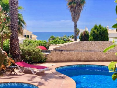 Photo for Villa with Sea View, Private Pool and Jacuzzi