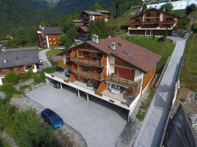 Photo for Apartment Caroubier 2 in Ovronnaz - 3 persons, 1 bedrooms