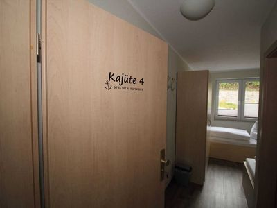Photo for Cabin No. 4 - Holiday Cabins - directly in the Sassnitz city harbor
