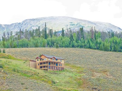 Photo for 7 BR Home w/ Stunning Views of Lake Dillon & Summit, hot tub, ski & golf access