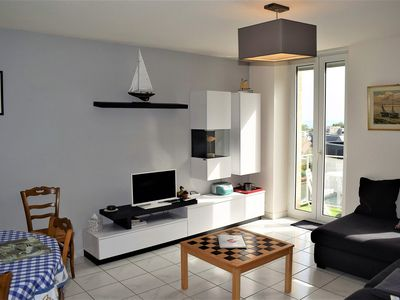 Photo for Beautiful apartment with free WIFI, close to Trestraou Beach PERROS-GUIREC