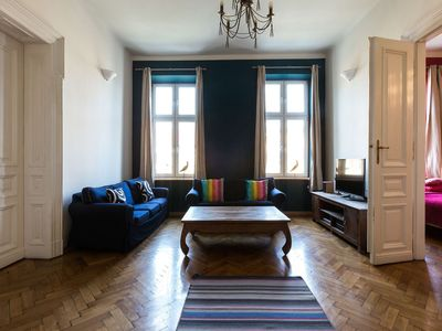 Photo for Airy and sunny apartment in the centre of Krakow