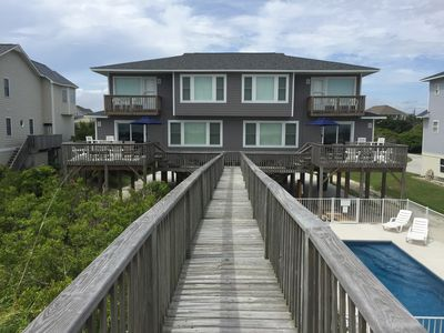 Photo for Beachfront Home with a Private Pool Sleeps 21