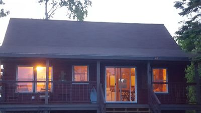 Photo for A  Cabin Get Away Sitting On Mill Cove. Close to Acadia, restaurants, canoeing..