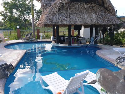 Photo for Welcome To The Gecko Bungalow! **Stunning POOL** FREE Int'l Airport Shuttle!!