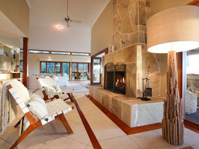 Photo for Kookaburra Lodge.Luxurious and spacious home with stunning views.