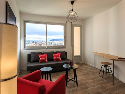 Photo for 1BR Apartment Vacation Rental in Clermont-Ferrand, Puy-de-Dôme