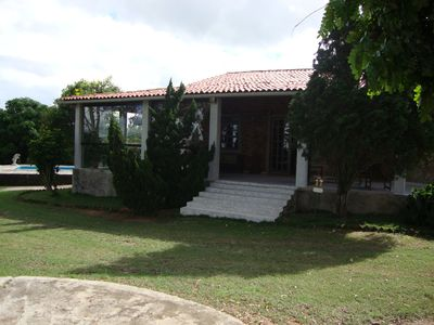 Photo for Beautiful country house with excellent terrace and beautiful view.