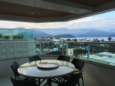 Photo for Penthouse overlooking the sea in Ubatuba ONLY FOR FAMILIES