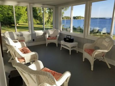 Photo for Tranquil, Private Lake Front Family Vacation Home!