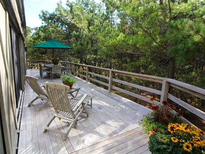 Photo for Comfortable Indian Neck 4BD -A/C, Walk to Beach & Association Tennis Courts
