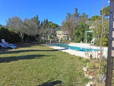 Photo for Villa with stunning views of the Medieval City and the Pyrenees