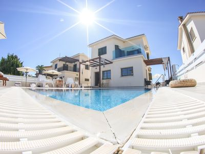 Photo for Villa Alexandra (Private pool, 30 meters from beach, Near Nissi Beach)