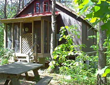 Only one secluded cabin in 75 forested acres