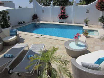 Photo for Boutique Bed & Breakfast Suite with Pool,Garden,Sunroom w/ Panoramic Sea Views