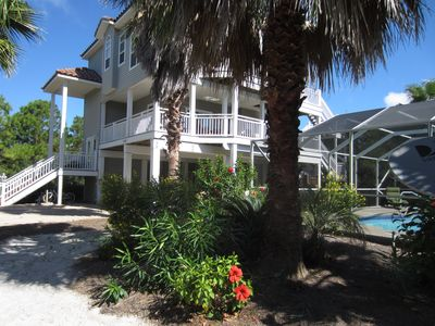 4 Bed/4 Bath on short Beach Path Private Pool can be heated for a fee