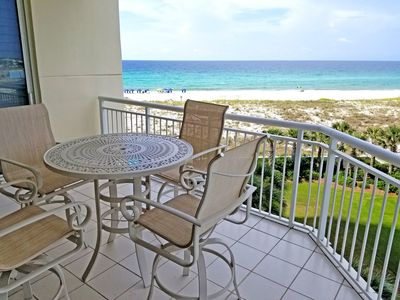 Photo for Best Views on the Beach from this 3rd floor Belle Mer condo!
