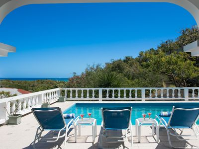 Photo for Quick walk to SHOAL BAY! Private POOL, ocean views!