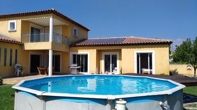 Photo for Villa of 140m2 in peace with swimming pool + independent STUDIO