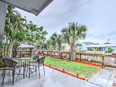 Photo for Cute Apt w/Backyard & Grill - Steps to Cocoa Beach