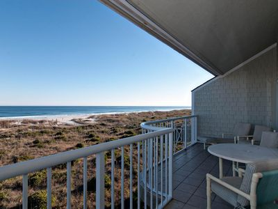 Photo for Exclusive 4 bedroom oceanfront condo offering rolling ocean breezes