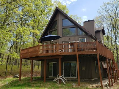 Photo for Beautiful quiet wooded remodeled property with a scenic stream in the back.