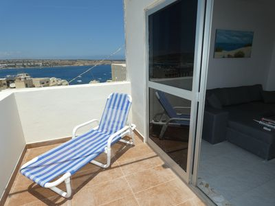 Photo for Seaview Mellieha Two Bedroom Penthouse - Sleeps 6