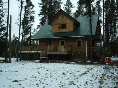 Photo for Beautiful Cabin in the Heart of the Rocky Mountains (near Jasper National Park)