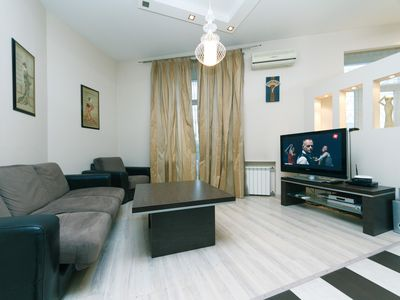 Photo for One bedroom. Luxe. 29.Kreschatyk. Centre of Kiev