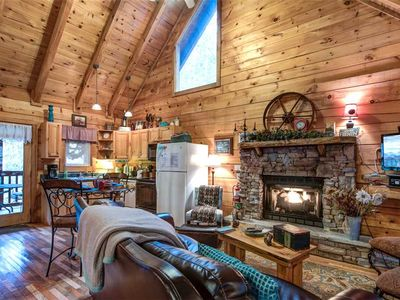 Photo for Wild at Heart, 1 Bedroom, Pet Friendly, Hot Tub, Pool Table, WiFi, Sleeps 4