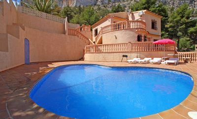Photo for Vacation home Quique  in Calpe (Alicante), Costa Blanca - 9 persons, 4 bedrooms