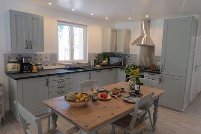 The kitchen in Le Cottage