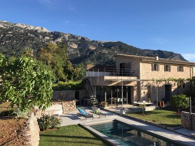 Photo for NEW: Design house with pool & mountain view   excl. hideaway quiet location near Plaza