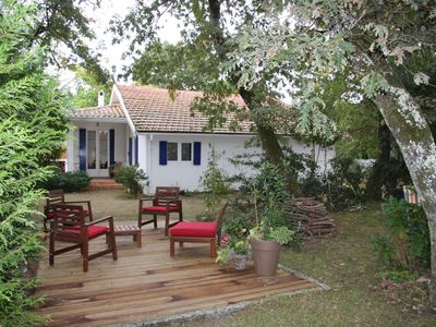 Photo for House (8 places) D'Arcachon Basin Renovated In Wooded Garden (700m²)