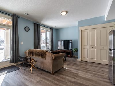 Photo for 2 bedrooms private walkout basement suite in a mountain /lake view community