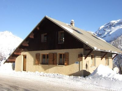 Photo for Large sunny chalet, mountain view, central heating