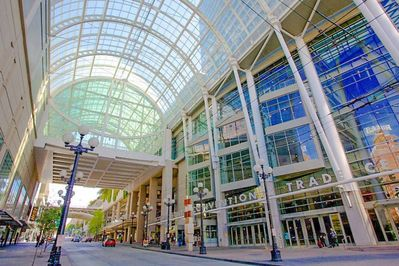 Convention Center is steps away, perfect location for business travel